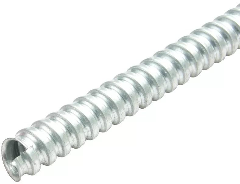 Silver Flexible Electrical Tubing P4 Single Locking