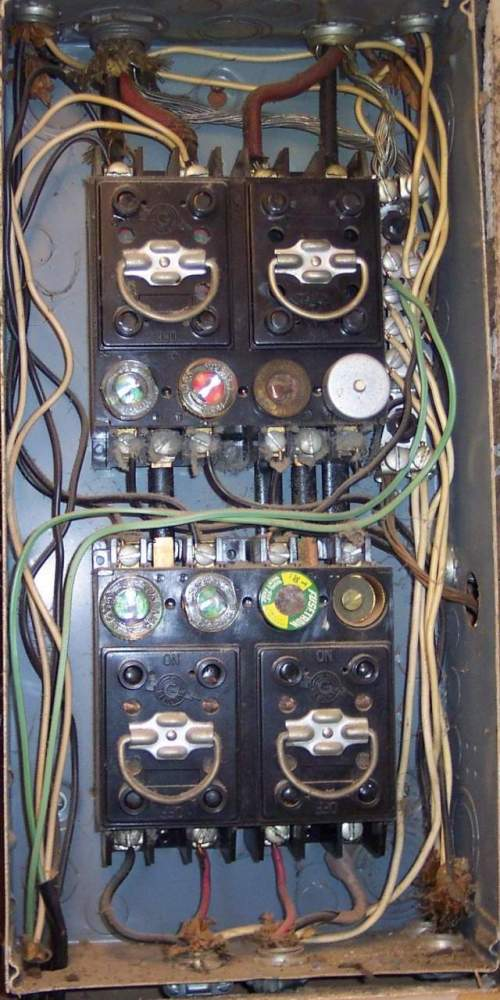 small resolution of 1950 home fuse box wiring diagram home 1950 home fuse box
