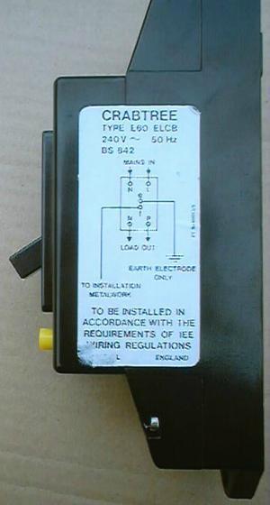 Wiring Diagram Of Earth Leakage Circuit Breaker