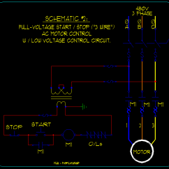 Ac Low Voltage Wiring Diagram Dna Fingerprinting Basic Start Stop Motor Control Schematics Ecn Electrical Forums Linked Image