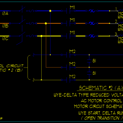 Wye Delta Starter Wiring Diagram 2007 Honda Civic Si Star 3-phase Motor Automatic With Timer – Readingrat.net