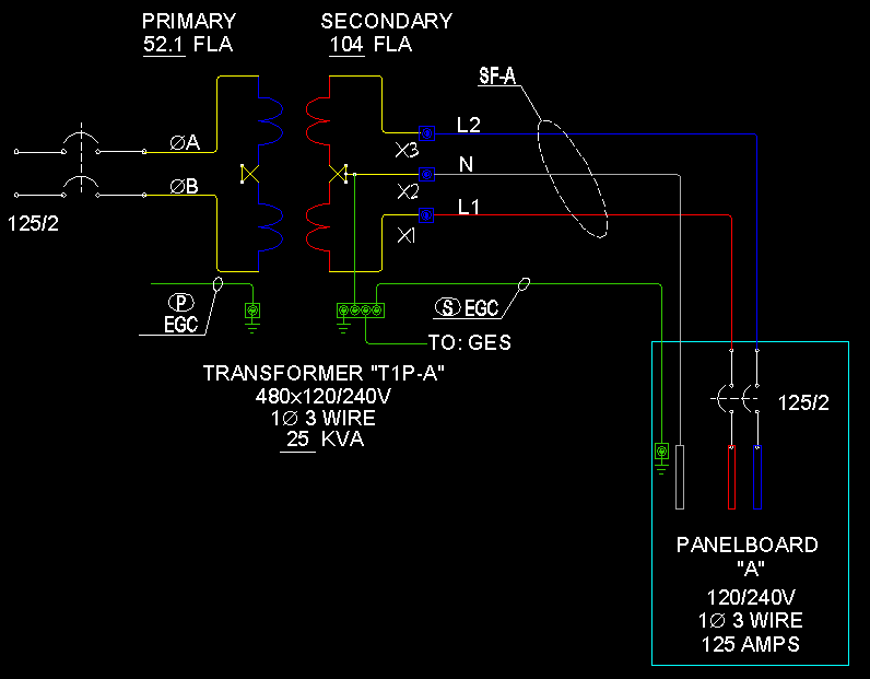 Transformers & Feeders 1 Phase 3 Wire ECN Electrical Forums