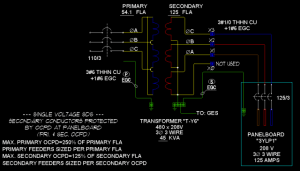 Transformers & Feeders: 3 Phase 3 Wire Wye  ECN Electrical Forums