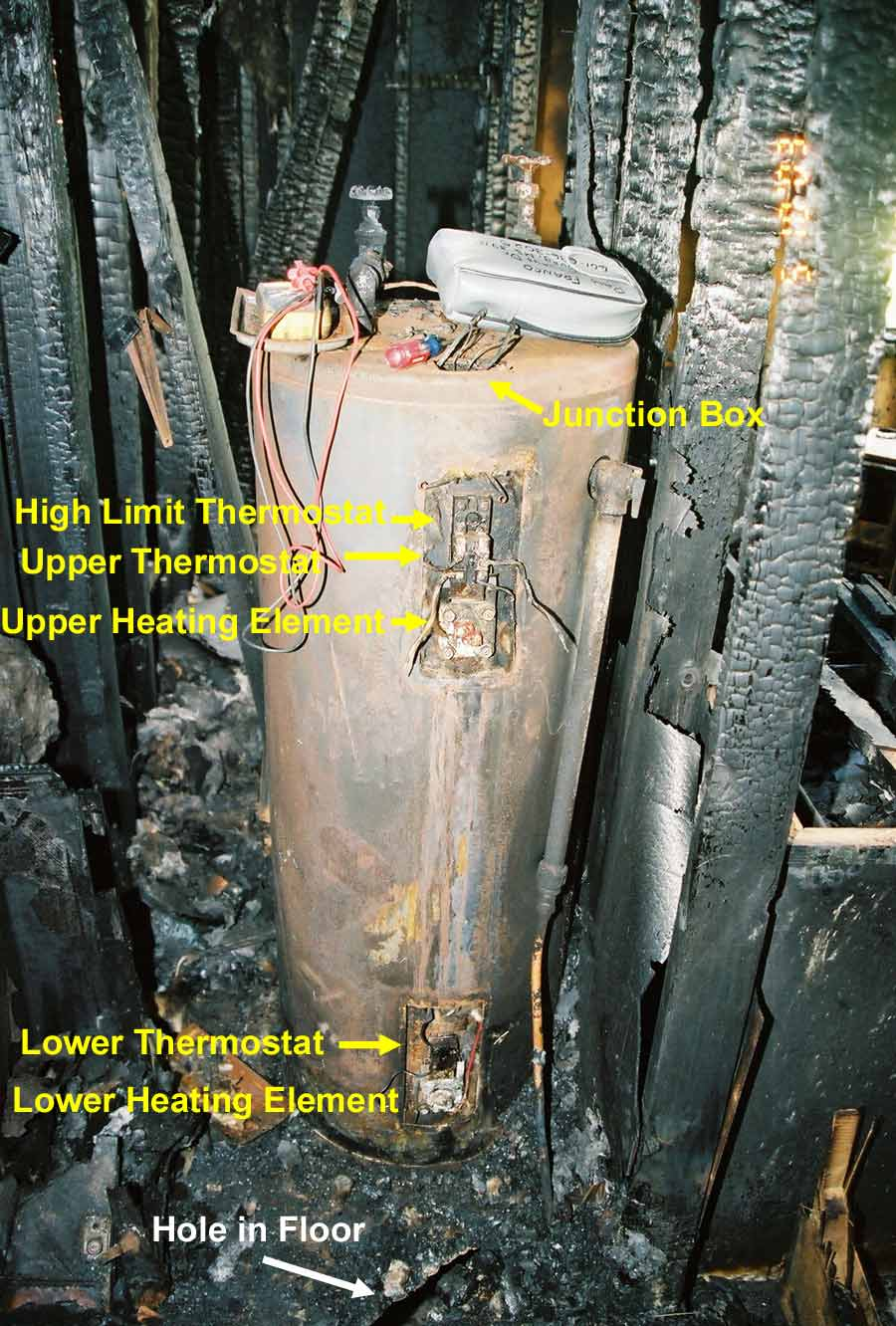hight resolution of electric hot water tank