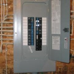 Wire Diagram For Light Switch And Outlet Wiring Huskee Lawn Tractor Replacing A Breaker In Your Panel : Electrical Online