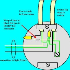 Ceiling Light Switch Wiring Diagram Dynisco Pressure Transducer A Electrical Online Step Four