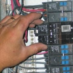 3 Prong Plug Wiring Diagram Air Compressor 230v 1 Phase Replacing A Breaker In Your Panel : Electrical Online