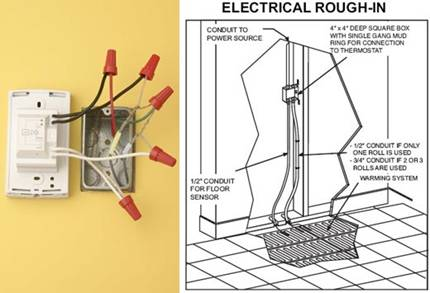 wiring diagram for electric underfloor heating entity relationship tutorial floor data today hvac diagrams