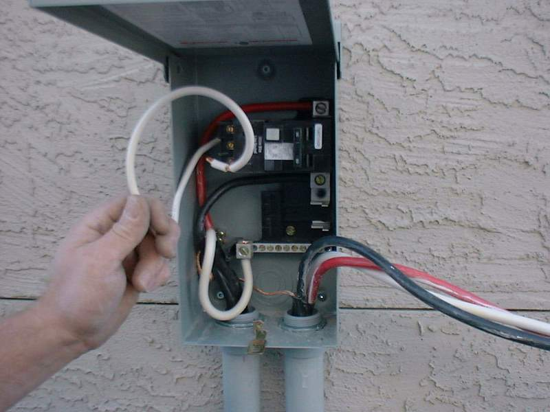Wiring Up A Hot Tub
