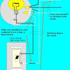 Wiring A Switched Outlet Diagram Three Circle Venn Worksheet How Do I Wire Receptacle From Light But Keep It Hot When Post Dwg1