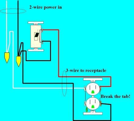 wiring diagram for half switched outlet wiring switch outlet combo wiring diagram wiring diagram on wiring diagram for half switched outlet