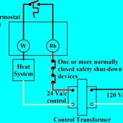 3 Wire Thermostat Wiring Diagram Limit Switch Explained If