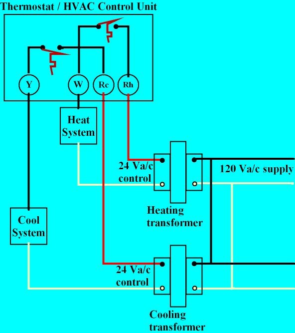 3 wire thermostat wiring diagram mvc class example explained the