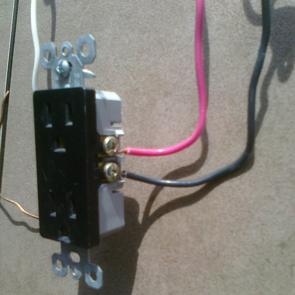 medium resolution of kitchen split receptacle circuits electrical online wiring split receptacles