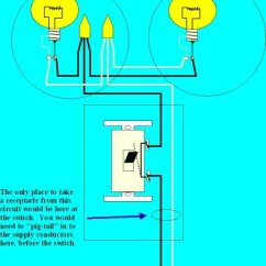 Wiring A Switched Outlet Diagram 2 Way Lighting Circuit Nz How To Add Receptacle An Existing : Electrical Online
