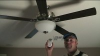 How To Install a Ceiling Fan With Remote Control ...
