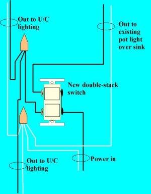 Installing Under Cabi Lighting : Electrical Online
