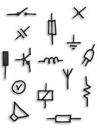 Electrical Symbols & Electronic Symbols in PDF