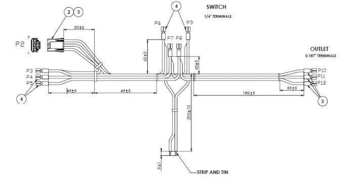 Jerr Dan Wiring Harness Maxi-Seal Harness Wiring Diagram