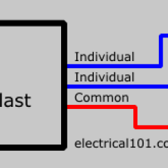 Lamp Wiring Diagram Campbell Hausfeld Pressure Switch Light Ballast Diagrams 2 Electrical 1012 Parallel