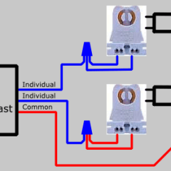Lamp Wiring Diagram Smoke Alarm Australia How To Replace 2 Series Ballast With Parallel Electrical 101 After Is Replaced