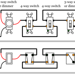 5 Way Light Switch Wiring Diagram A Of House In Spanish Dimmer Switches Electrical 101 With 3 And 4 Lighting