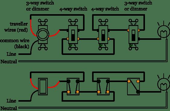 pass seymour 4 way switch wiring diagram  2010 fusion