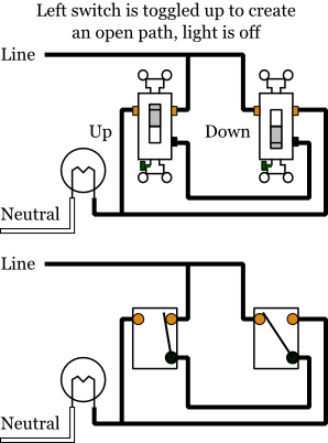 California 3 Way Wiring Diagram Leviton 4 Way Switch
