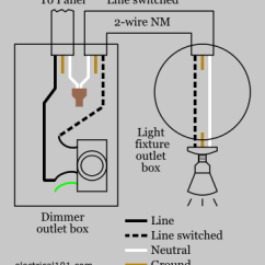 Dimming Switch Wiring Diagram Travel Trailer Dual Battery Dimmer Electrical 101 Conventional