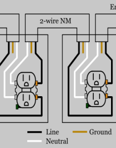 Receptacle wiring diagram also outlet electrical rh electrical