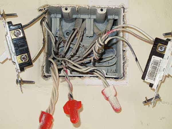 wiring diagram for 3 way light switch three 12v downlight transformer multiple - electrical 101