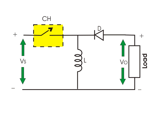 circuit diagram of buck boost converter ruud thermostat wiring chopper dc to electrical4u