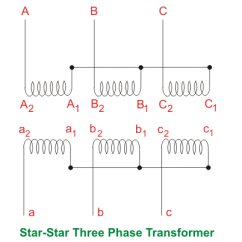 Star Delta Control Circuit Diagram Panasonic Head Unit Wiring Single Three Phase Transformer Vs Bank Of Transformers | Electrical4u