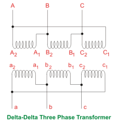 Three Phase Wiring Diagrams For Transformers Utility Trailer Brake Diagram Single Transformer Vs Bank Of Delta