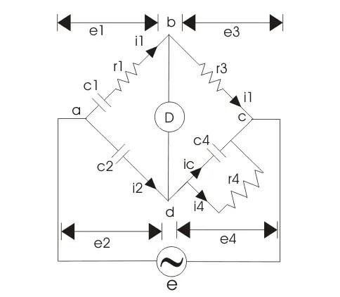 Schering Bridge Measurement of Capacitance using Schering