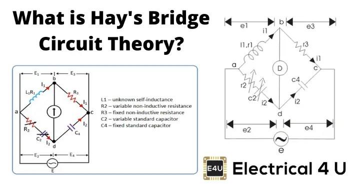 Hay′s Bridge Circuit Theory Phasor Diagram Advantages