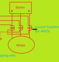 output of the current transformer connects in star mode how to set current limit for ct operated thermal overload relays  [ 2546 x 1182 Pixel ]