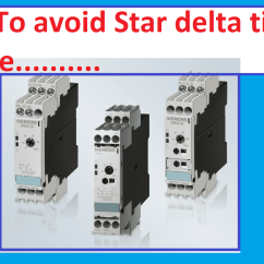 Star Delta Starter Wiring Diagram With Timer 1997 Expedition Fuse Box How To Avoid Failure In