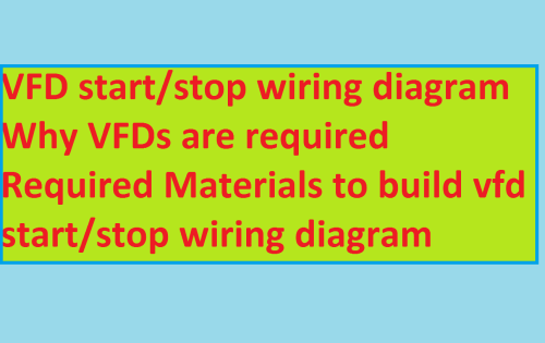 small resolution of vfd start stop wiring diagram