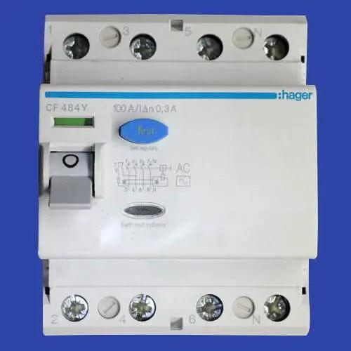 Working Principle Of Earth Leakage Circuit Breaker Elcb And Residual
