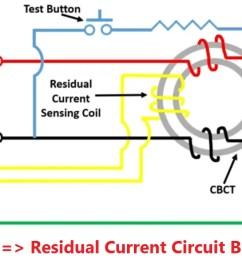residual current circuit breaker rccb electrical4u circuit diagram of rccb [ 1314 x 709 Pixel ]