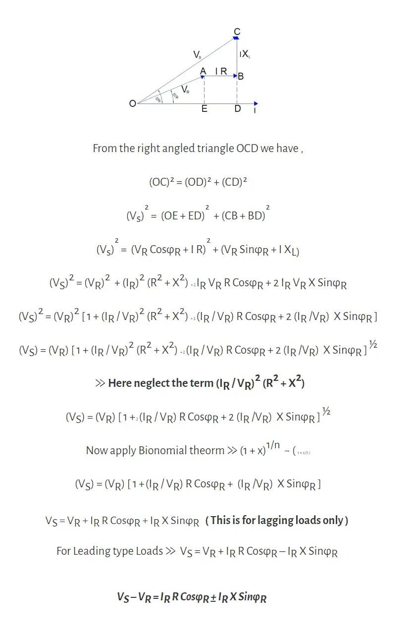 Short Transmission Line Definition Equivalent circuit
