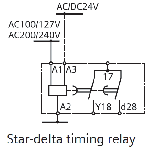 What is Star Delta Timer, Circuit Diagram, Working Siemens