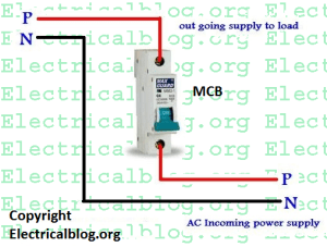Single Pole MCB Connection Diagram | Wiring MCB Video Tutorial