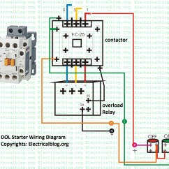Direct Online Starter Wiring Diagram 2 Way Switch Diagrams Electrical And Electronics Learning Blog A Platform For