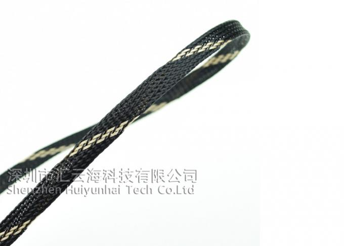 China Flame Retardant Cable Sleeve Logo Printing For HDMI