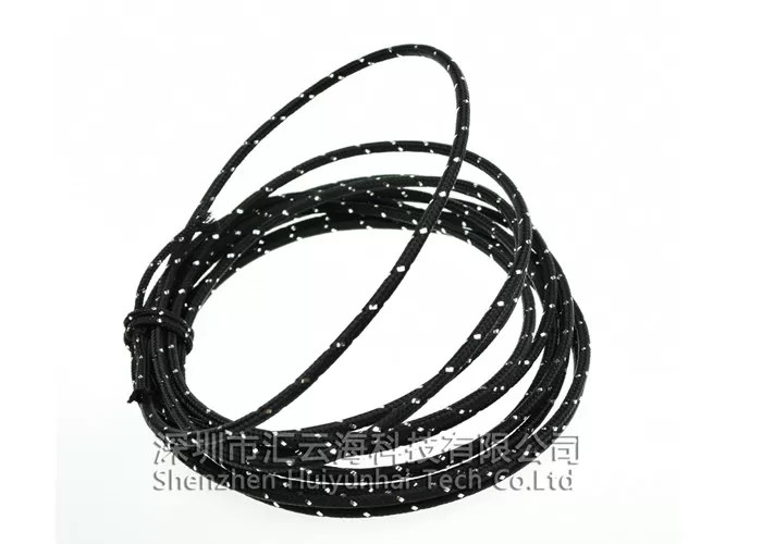 Thermal Insulation Cotton Cable Sleeve , Cotton Covered
