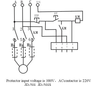 Intellectual Motoer Protector From Electrical Components