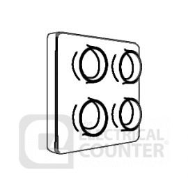 Manrose 13081 4 Way Spigot Adaptor For 300mm Extractor Fans