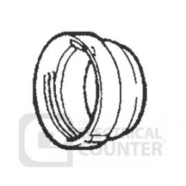 Manrose 6124M 150mm Male Threaded Hose Connector for Round